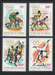 Senegal Olympic Games Munich 4v 1972 MNH SG#496-499
