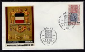 Germany 990 Stamp on Stamp U/A FDC