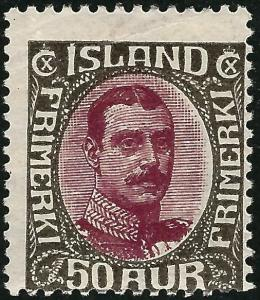 Elusive Iceland #125 Mint OG Fine SC$240...Fill a key spot!!!