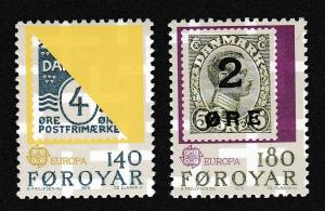 Faroe Is. Europa CEPT issue 1979 2v SG#42-43 SC#43-44