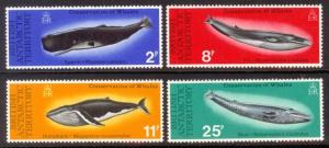 British Antarctic Territory Sc#  64-7 MNH Whales