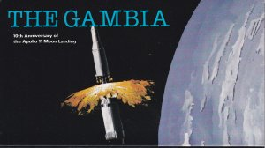 Gambia # 403a, Apollo Moon Landing 10th Anniversary, Complete Booklet