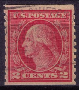 US Scott #491 George Washington 2c Stamp Rare Type II  Used Cat.$800.00