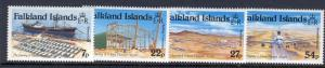 FALKLAND ISLANDS 425-8 MNH MT. PLEASANT AIRPORT OPENING