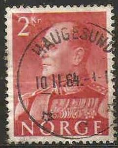 Norway Used Sc 372 - King Olav V