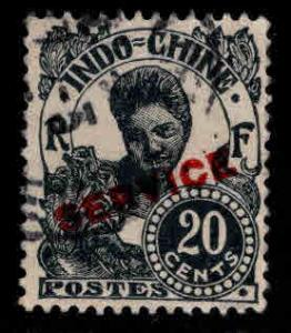 French Indo-China Scott o25 Used Official