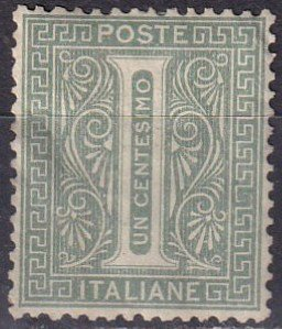 Italy #24  F-VF  Unused  CV $6.00  (Z6681)