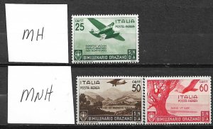 COLLECTION LOT OF # 826 ITALY # C84-6 1936
