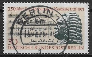 GERMANY Berlin - 1971  used - Brandenburgische Konzerte   - vfu