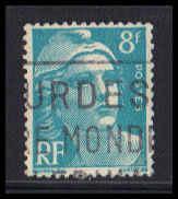 France Used Fine ZA5107