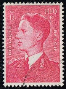Belgium #450 King Baudouin; Used (0.25)