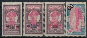 Martinique #108-11*  CV $2.30