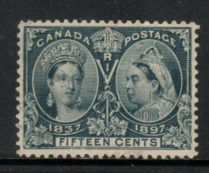 Canada #58 Very Fine Used With Light CDS Cancel