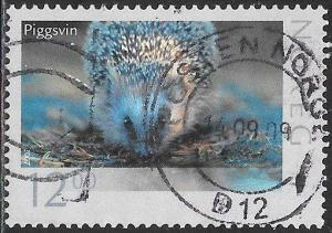Norway 1498 Used - Wildlife - Hedgehog - Socked on the Nose