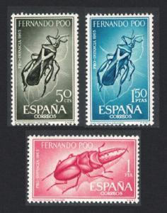 Fernando Po Beetles 3v SG#283-285