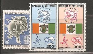 Ivory Coast SC 385,C59-60 Mint, Never Hinged