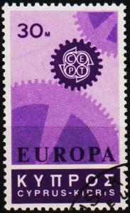 Cyprus. 1967 30m S.G.303 Fine Used