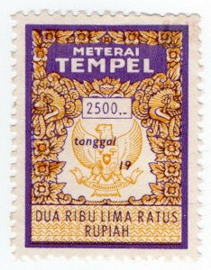 (I.B) Indonesia Revenue : General Duty 2500R (Meterai Tempel)