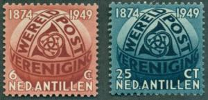 Netherlands Antilles #206-207  Mint VF NH  Scott $9.00