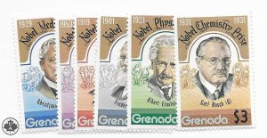 Grenada #627-632 MH/MNH CAT Value $4.15