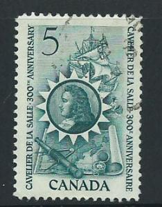 Canada SG 571 Fine Used
