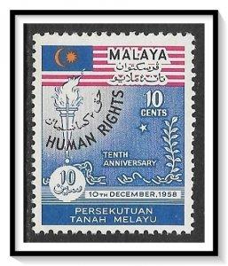 Malaya, Federation #89 Human Rights MH