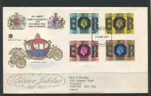 STAMP STATION PERTH:Great Britain - FDC Silver Jubilee 1977 CV$?