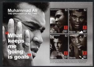 Nevis 2008 Muhammad Ali - The Greatest of All Time #2 per...