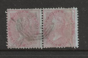 India a pair of lightly used QV 8a possibly SG 36