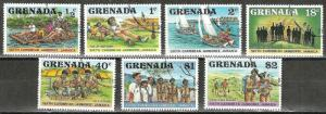GRENADA. 1976 77   SCOUTING  Stamp Set WYSIWYG Lot