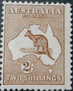 Australia 1913 Two Shillings Kangaroo SG 12 mint