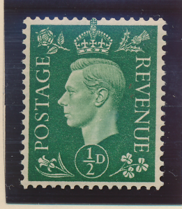 Great Britain Stamp Scott #235a, Mint, Wavy Gum - Free U.S. Shipping, Free Wo...