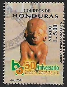 Honduras # C1109o - Maya Ceramics - used   -{BR9}