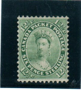 Canada #18 Very Fine Mint Unused (No Gum) **With Certificate**