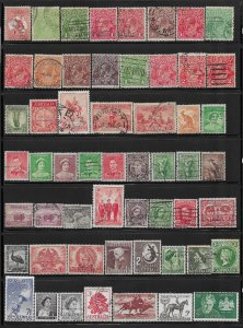Australia 57 diff. used mini collection - only 5¢ each - 12767..