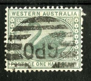 WESTERN AUSTRALIA 58 USED SCV $1.25 BIN $0.50 BIRDS