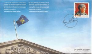 2010 Canada FDC Sc 2370 - The Right Honourable Romeo LeBlanc