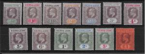 SIERRA LEONE SG73/85 1903 DEFINITIVE SET MTD MINT.