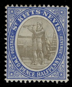 GRENADA EDVII SG4, 2½d grey-black and blue, M MINT. Cat £19.