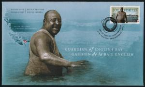 Canada 2620 on FDC - Joe Fortes, Black History Month