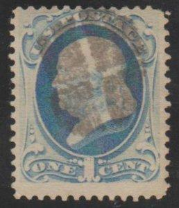 U.S. Scott #182 Frankln Stamp - Used Single - IND
