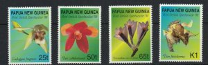 PNG448) Papua New Guinea 1998 Orchids MUH