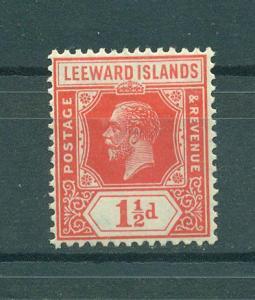 Leeward Islands sc# 65 (2) mhr cat value $4.00