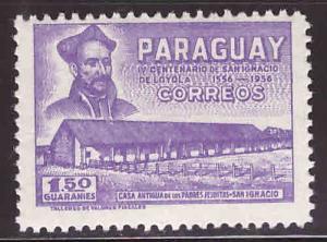 Paraguay Scott 522 MH* St Ignatius stamp