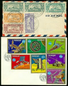 EDW1949SELL : PARAGUAY 2 interesting covers.