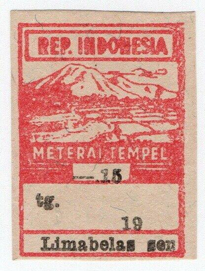 (I.B) Indonesia Revenue : General Duty 15s (Meterai Tempel)