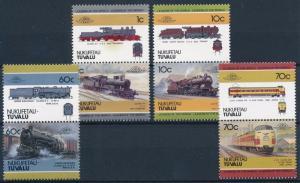 [63586] Tuvalu Nukufetau 1985 Railway Train Eisenbahn Chemin de Fer  MNH