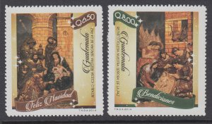 Guatemala 699-700 Christmas MNH VF