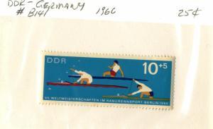 GERMANY DDR #B141 , MINT NH - 1966 - DDR092