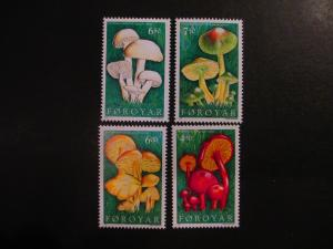 Faroe Islands #315-18 Mint Never Hinged- (LB9) WDWPhilatelic